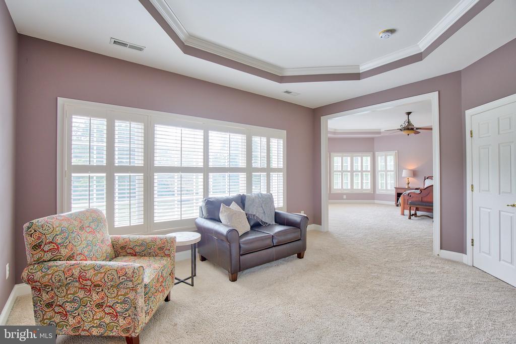 Sitting room in Master Suite - 40771 BLACK GOLD PL, LEESBURG