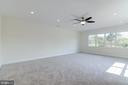 Remote Controlled Ceiling Fan, LED Recessed Lights - 5216 OLD MILL RD, ALEXANDRIA