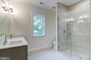 Upper Level Hall Bathroom - 5216 OLD MILL RD, ALEXANDRIA