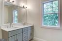 Dual Sink Comfort Height Vanity, LED Lighting - 5216 OLD MILL RD, ALEXANDRIA