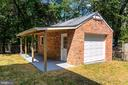 Separate 1 Car Garage with Porch & Electricity! - 5216 OLD MILL RD, ALEXANDRIA