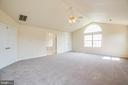 Master Bedroom offers room for large furniture - 92 BRUSH EVERARD CT, STAFFORD