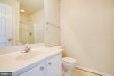 Ensuite bath - 92 BRUSH EVERARD CT, STAFFORD