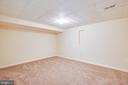 Lower level offers room for crafts, exercise, etc. - 92 BRUSH EVERARD CT, STAFFORD