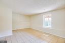 Bedroom 6 in lower level - 92 BRUSH EVERARD CT, STAFFORD