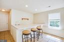 Transform bar into in-law kitchen! - 92 BRUSH EVERARD CT, STAFFORD