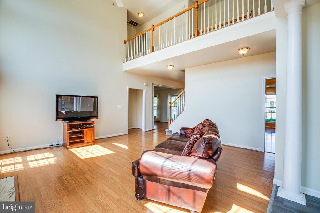 Family Room is amazing - 92 BRUSH EVERARD CT, STAFFORD