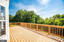 Sunny deck for entertaining - 92 BRUSH EVERARD CT, STAFFORD