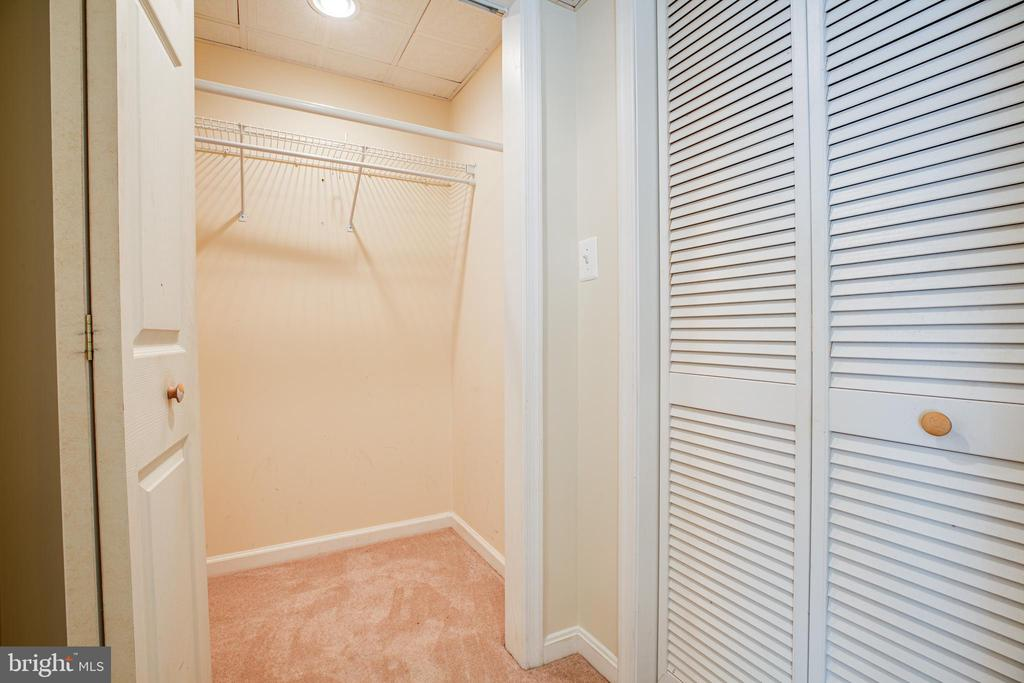 More storage space in lower level - 92 BRUSH EVERARD CT, STAFFORD