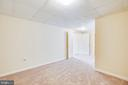 2nd finished room in lower level for any purpose - 92 BRUSH EVERARD CT, STAFFORD