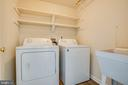 Laundry Room on main level - 92 BRUSH EVERARD CT, STAFFORD