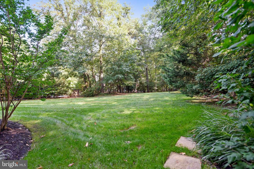 Side yard for play and sport - 12303 BLAIR RIDGE RD, FAIRFAX