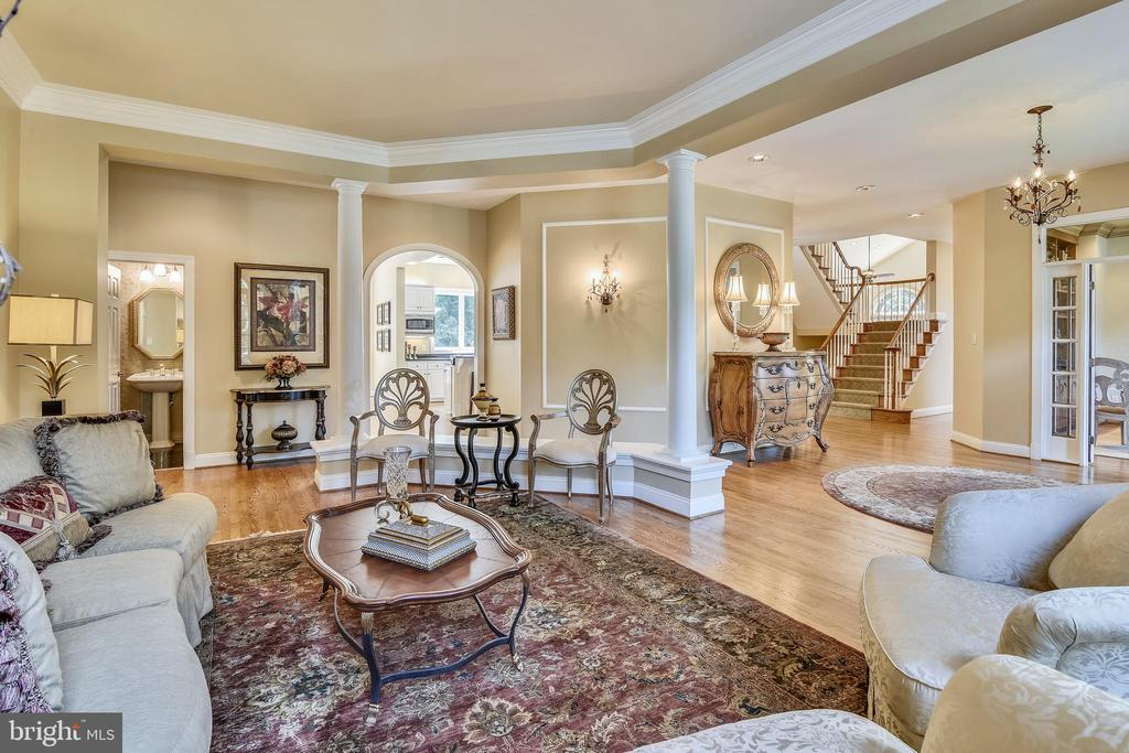 Open spaces - 12303 BLAIR RIDGE RD, FAIRFAX