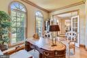 French doors for privacy - 12303 BLAIR RIDGE RD, FAIRFAX