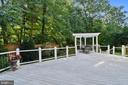 Deck with views - 12303 BLAIR RIDGE RD, FAIRFAX