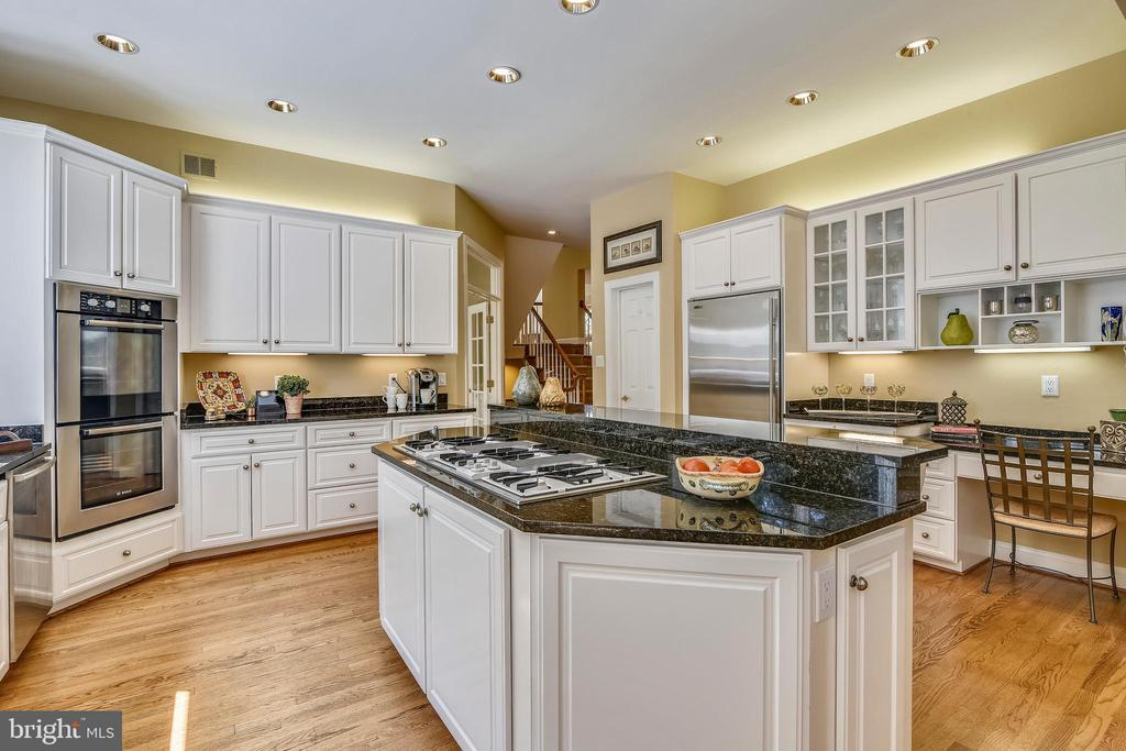 Light for chefs w/over & under cabinet lighting - 12303 BLAIR RIDGE RD, FAIRFAX