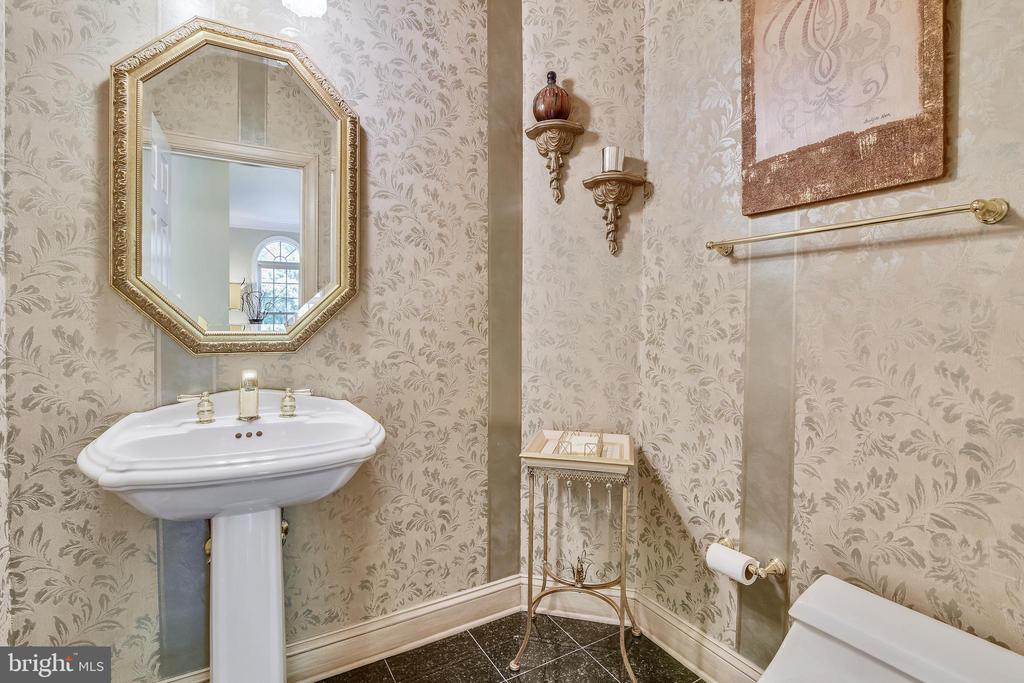 Main level half bath - 12303 BLAIR RIDGE RD, FAIRFAX