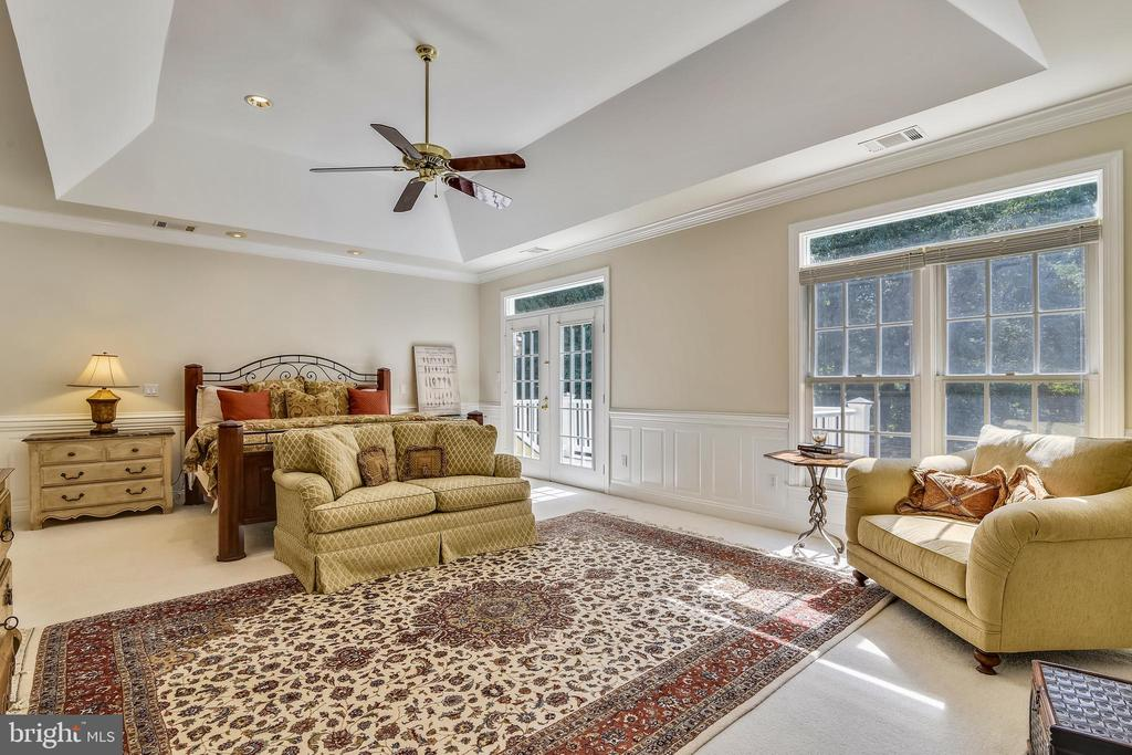 Spacious master with views - 12303 BLAIR RIDGE RD, FAIRFAX