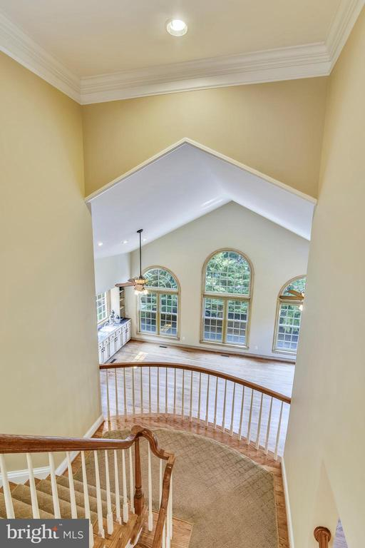 Great room views - 12303 BLAIR RIDGE RD, FAIRFAX