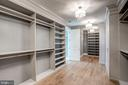 Master her closet - 11307 STUART MILL RD, OAKTON