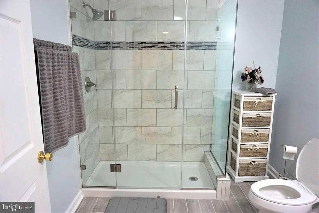Full bath in basement is recently installed. - 6205 HAWSER DR, KING GEORGE