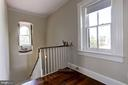 Upstairs Hall with rooftop Old Town views - 209 S LEE ST, ALEXANDRIA