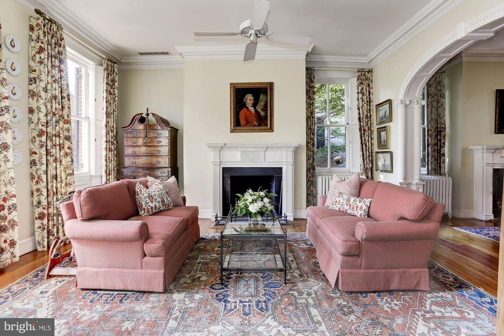 Gracious living room - 209 S LEE ST, ALEXANDRIA
