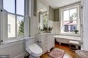 Bathroom with antique 6' clawfoot tub - 209 S LEE ST, ALEXANDRIA