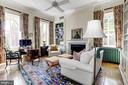 Bright Bedroom/Library with 11'3 ceilings - 209 S LEE ST, ALEXANDRIA