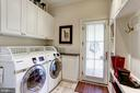 Main level laundry and mud room - 209 S LEE ST, ALEXANDRIA