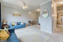 Living room - 10864 DEPOT DR, BEALETON