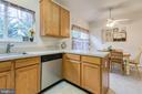 Kitchen with lots of natural lighting - 10864 DEPOT DR, BEALETON