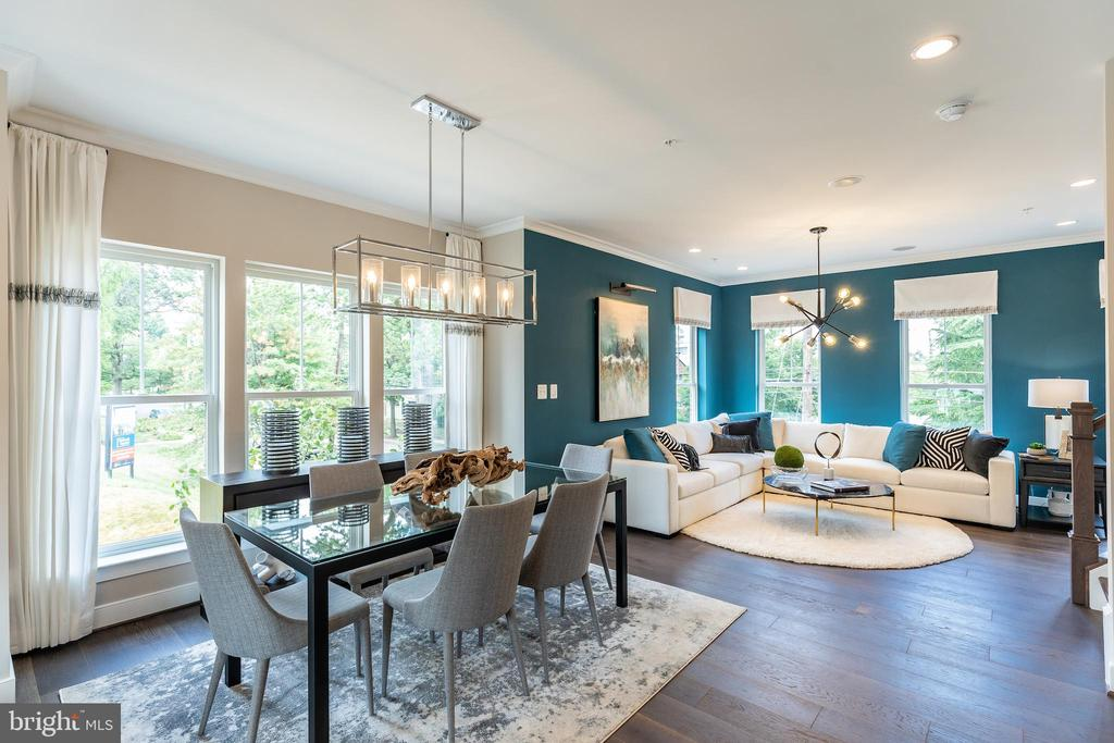 Photos of phase one, model home - 3024 7TH ST NE, WASHINGTON