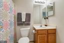 Full bath on upper level - 10864 DEPOT DR, BEALETON