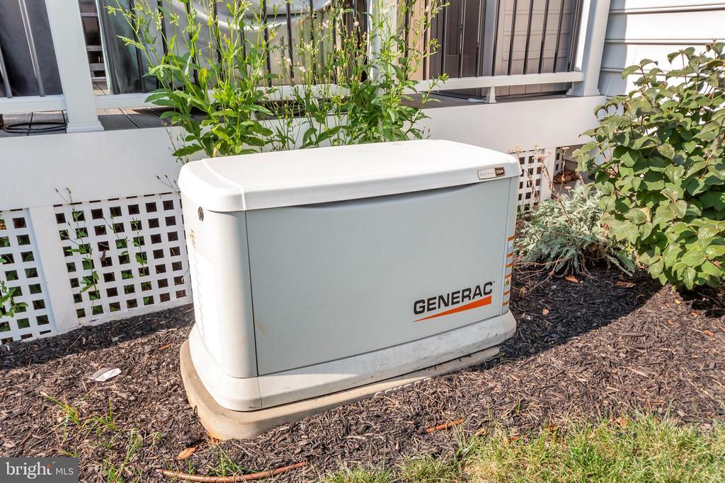 Generator System - 175 VERBENA DR, STAFFORD