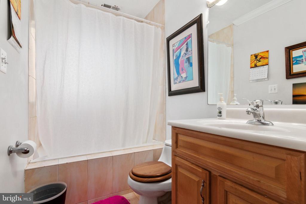 Main Bathroom - 2903 HILLSIDE AVE, CHEVERLY