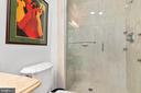 Updated Master Bathroom - 2903 HILLSIDE AVE, CHEVERLY
