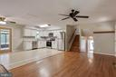 living room - 105 ELEY RD, FREDERICKSBURG