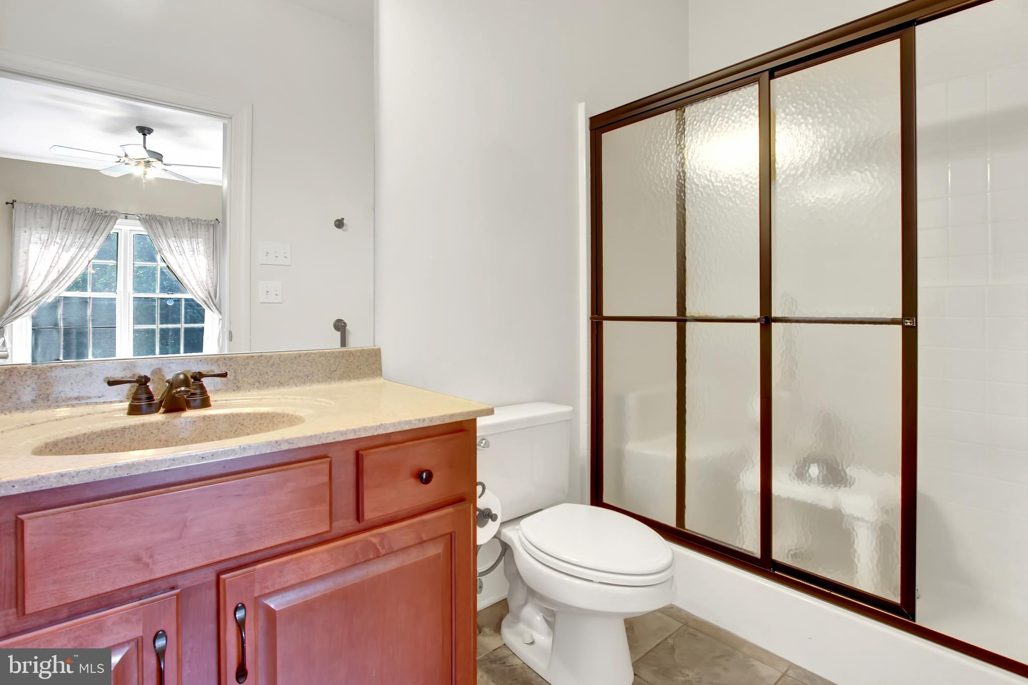 Full bath, handicap accessible tub/shower