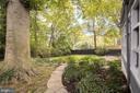 Rear Garden - 5016 LOUGHBORO RD NW, WASHINGTON