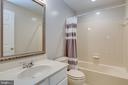 Basement Full Bathroom - 43349 ROYAL BURKEDALE ST, CHANTILLY