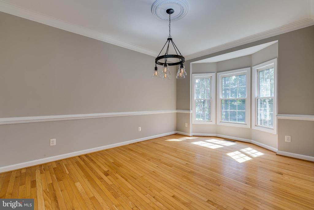 Formal Dining Room with Bay Window - 43349 ROYAL BURKEDALE ST, CHANTILLY