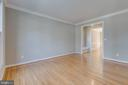 Living Room with Crown Molding - 43349 ROYAL BURKEDALE ST, CHANTILLY