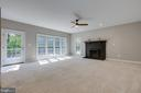 Large Family Room that Leads to Deck - 43349 ROYAL BURKEDALE ST, CHANTILLY