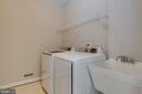 Main Level Laundry Room - 43349 ROYAL BURKEDALE ST, CHANTILLY