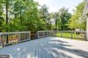 Freshly Painted Deck - 43349 ROYAL BURKEDALE ST, CHANTILLY