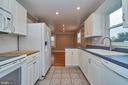 Kitchen with Tile Floor - 912 WINGFIELD RD, WOODBRIDGE