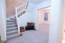 Foyer Stairway - 131 R ST NE, WASHINGTON