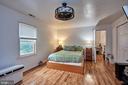 Master suite #1 on 2nd level - 2017 NEWTON ST NE, WASHINGTON