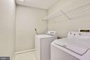 Upper level laundry - 42944 DEER CHASE PL, ASHBURN